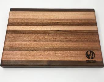 Mahogany & Walnut Cutting Board