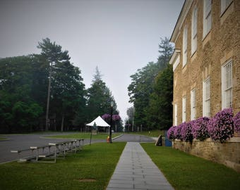 Early Morning fine art photograph, Cooperstown NY, Wall art, Village,