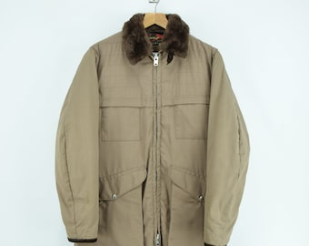 2bdf0ef5a3535 Vintage 70s 10-X Mfg Co USA Quilted Hunting Shooting Jacket Talon Zip XS / S