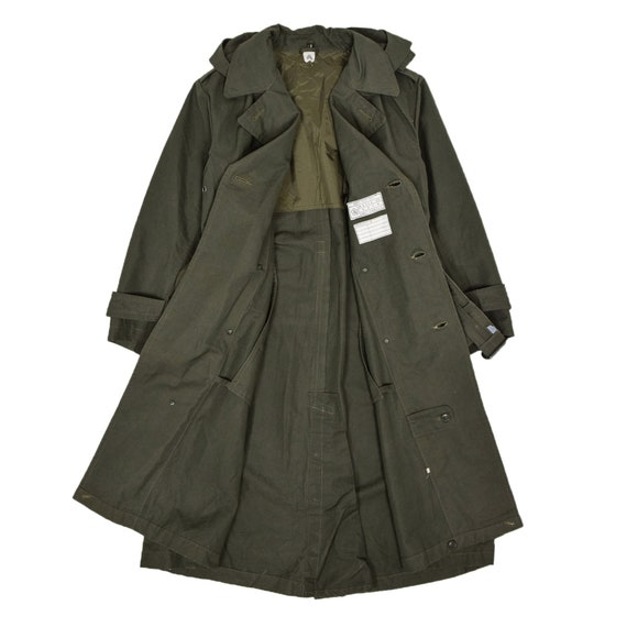 Deadstock 60s Hooded Double Breasted Japanese Mil… - image 10