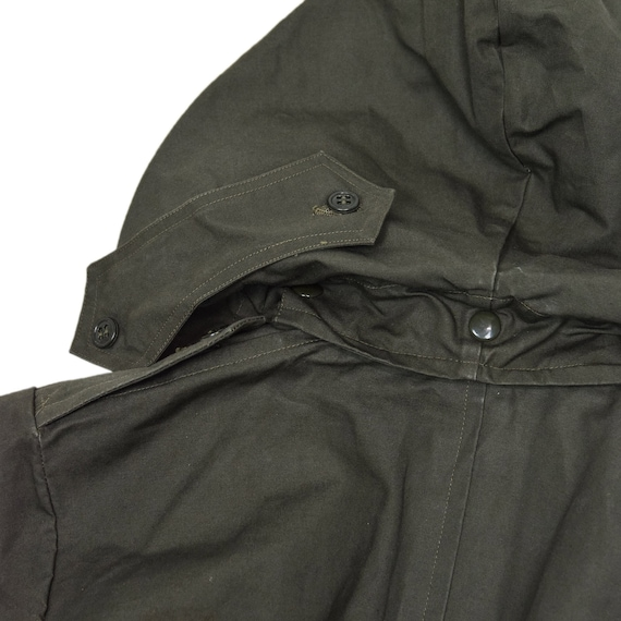 Deadstock 60s Hooded Double Breasted Japanese Mil… - image 9