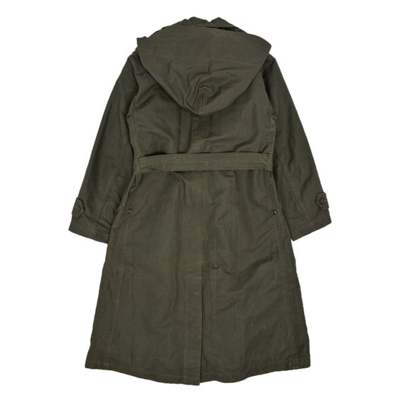 Deadstock 60s Hooded Double Breasted Japanese Mil… - image 2