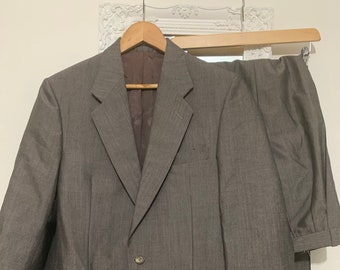 Mens 1960s Vintage Suit 40R Jacket and trousers