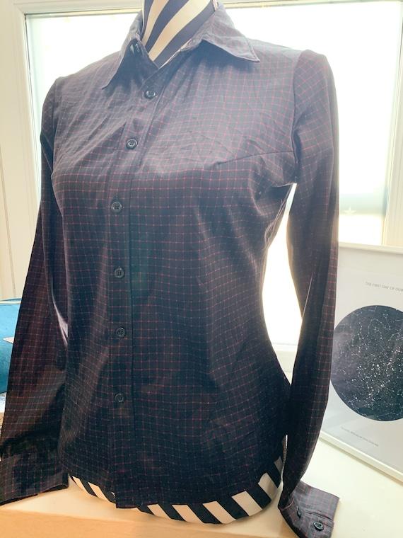 70's Blouse Shirt Vintage Japanese 70's Vintage na