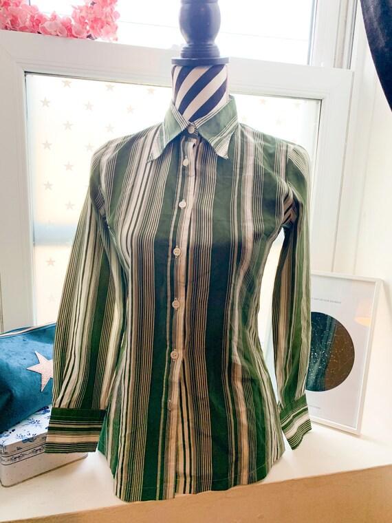 1970's Blouse Shirt Vintage Japanese 70's Vintage