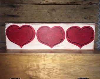 Valentin's 3 Hearts