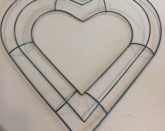 Metal Hearts Etsy