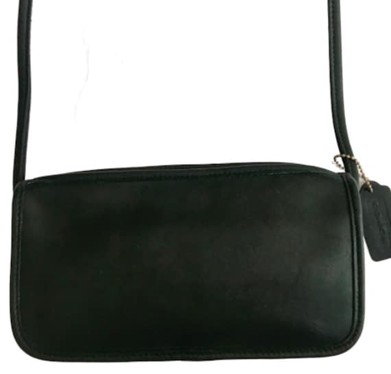 Coach Vintage 9655 Green Small Zippered Pouch