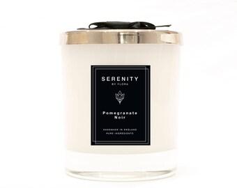 Pomegranate Noir Handmade Luxury Soy Candle 220g