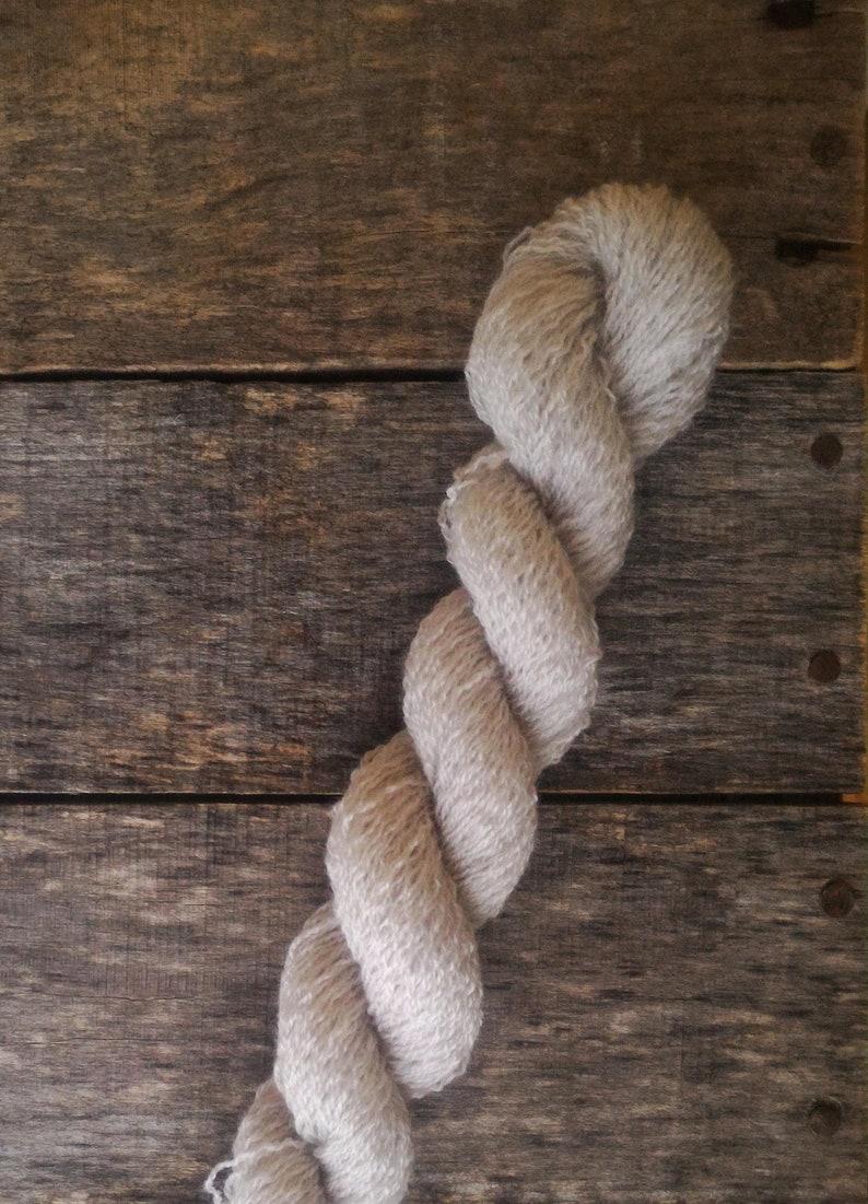Foggy Mirror 100/% Wool Recycled Yarn