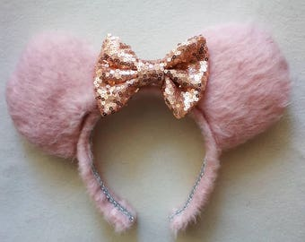Luxury Marie Aristocats fluffy minnie mouse ears.