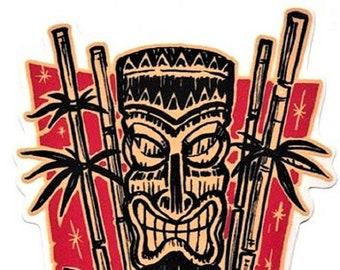 ART STICKER Kon Tiki Vince Ray Decal #VR82
