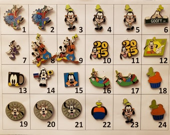 Disney pins Create a lot pins Booster Mystery Starter Princess Minnie Cheshire Pirates Vinylmation Stitch Tinker Bell Donald
