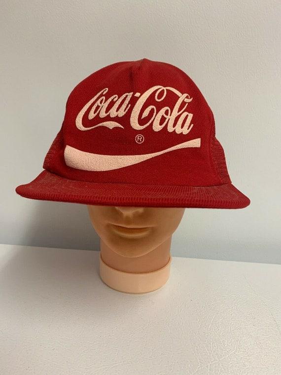 Vintage Coca Cola Newton MFG Snapback Trucker Hat