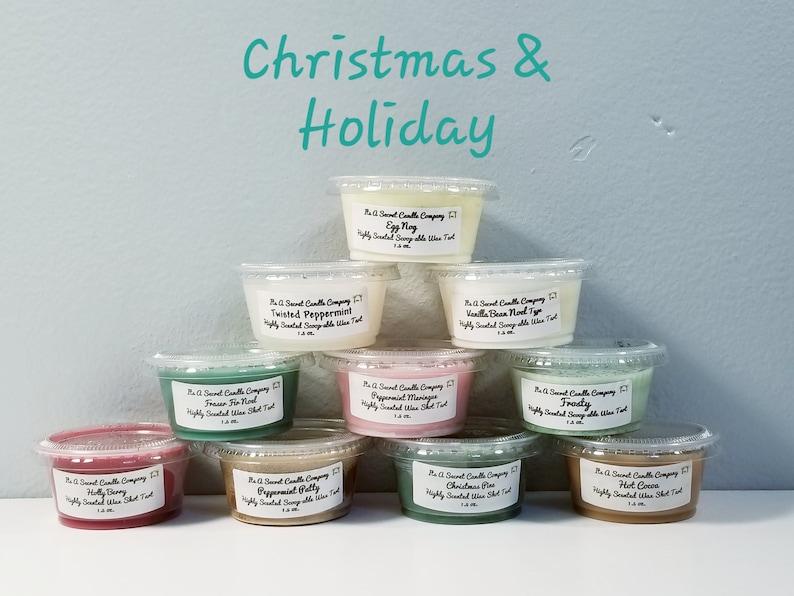 Fall Wax Melts Christmas Tarts Scoopable Shots Hocus Pocus, Variety Glittery Scoop Wax Apple Sauce Marshmallow Fireside Scoopable Wax
