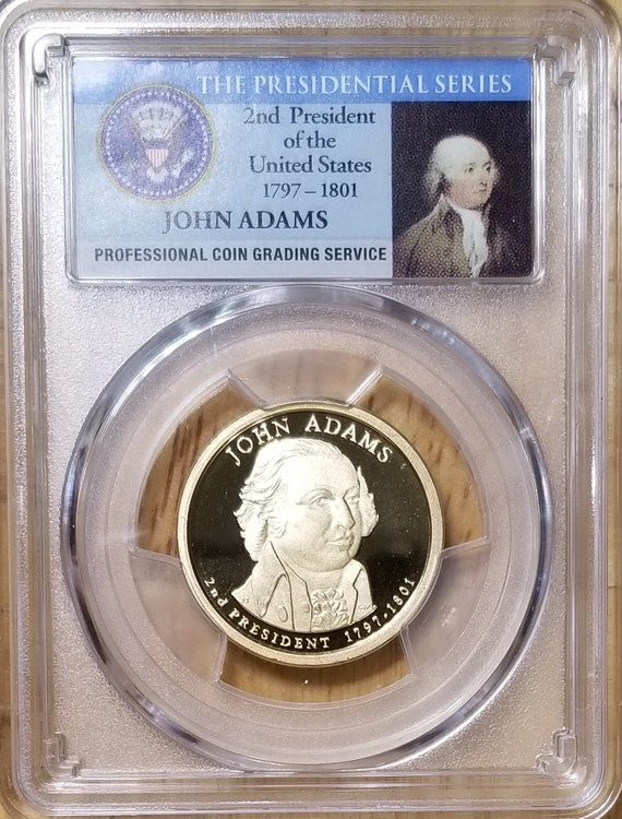 2019 Silver James Madison Presidential Series NGC MS70