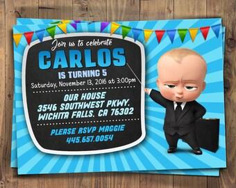 Baby Invitation Etsy