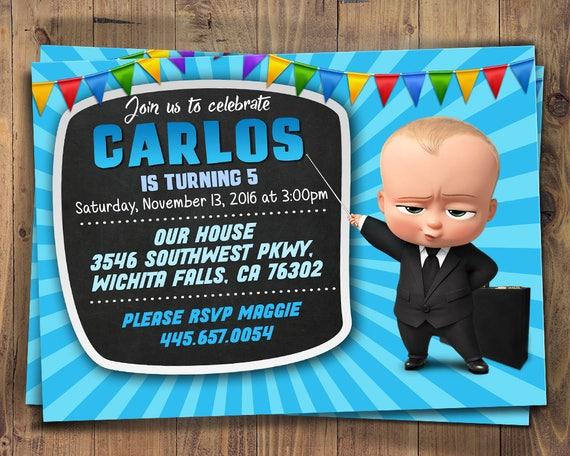 Chef-Baby-Einladung Chef Baby Geburtstag Chef Babyparty