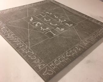 Tile Enochian Holy Table