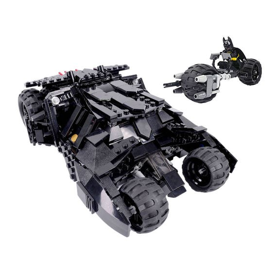 Custom Lego Batman Dark Knight Tumbler W Batpod Etsy