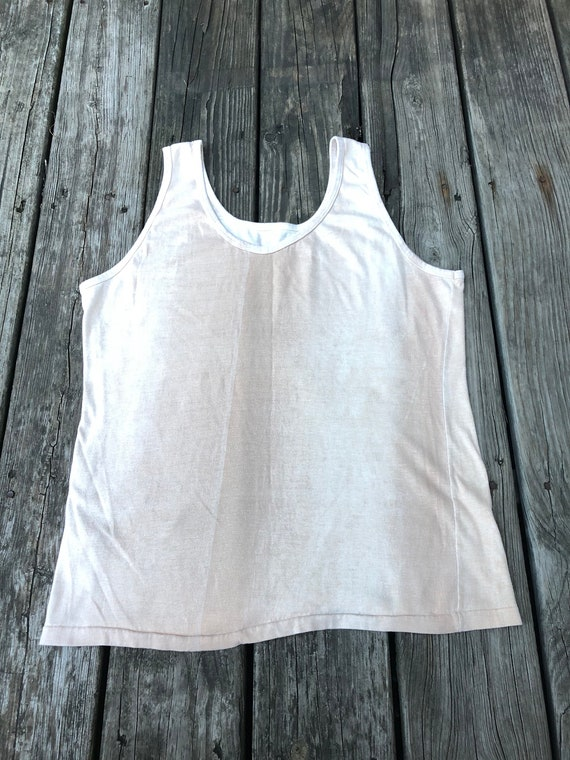 Vintage Rare Sun Faded Surf Tank Late 60s