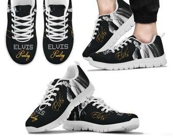 1631cdffdd4184 Elvis Presley Custom Made Shoes Sneakers Runners Trainers Men Women Kids