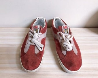 326082b5c3d8 Vintage Vans shoes style77 bold Ni made in usa super rare