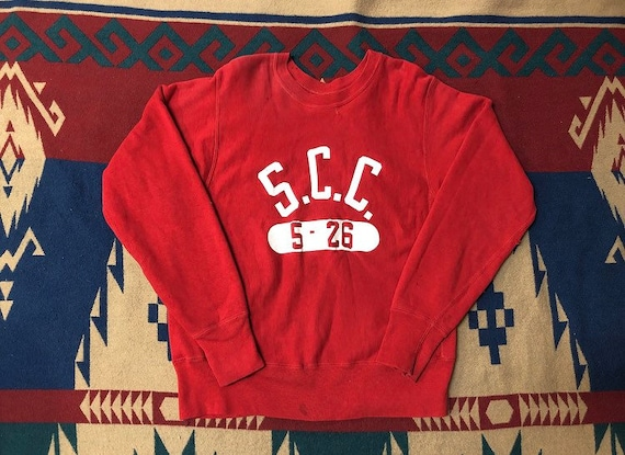 60s Champion sweatshirt REVERSE WEAVE S.C.C vintag