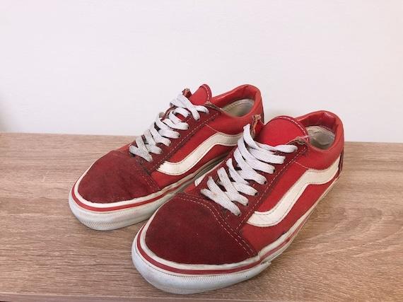 Vintage Vans old skool shoes style36 made in usa
