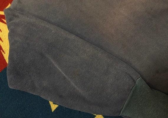 50s 60s half zip sweatshirt faded sweatshirt - image 4