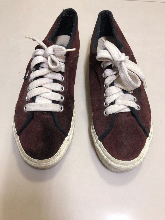 90s Vintage Vans shoes style 86 lampin made in USA