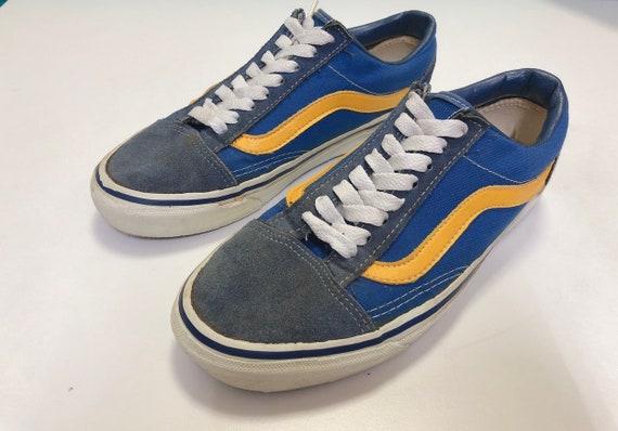 90s vintage Vans shoes style 36 old skool made in