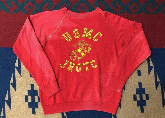 Vintage 70s USMC faded sweatshirt