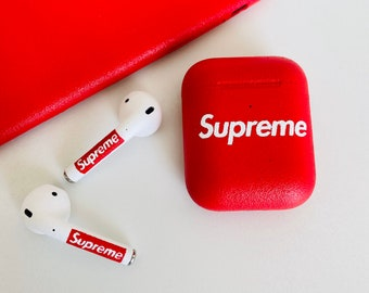 Supreme Airpods Etsy