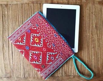 handcrafted ipad bag