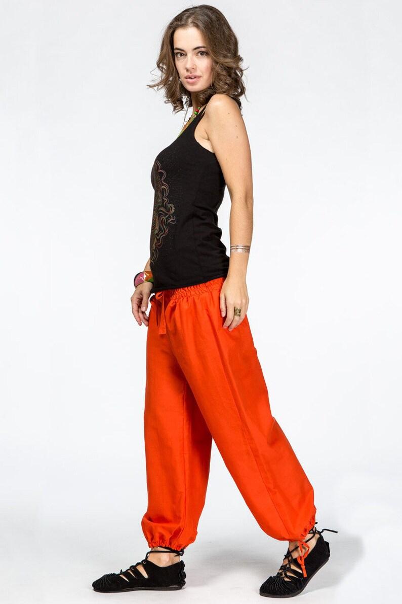 033998e4ac Women cotton yoga pants Festival Boho Hippie Dance trousers | Etsy