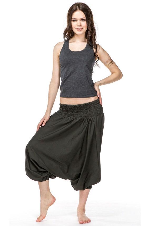 8a026c705b36b Short harem pants for women   Comfortable cotton aladdin loose