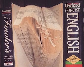 Saxophone Folded Book Art