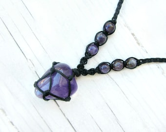 Healing Necklace Lapis Lazuli Necklace Insomnia Owl Jewellery Silver Owl Necklace Depression Necklace Stress Jewellery