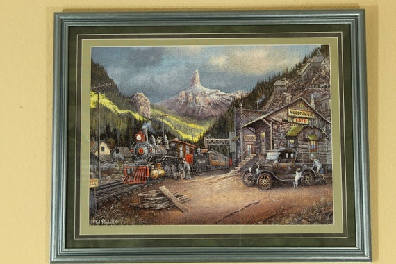 Nuggetville 1920 750 Piece Custom Frame Puzzle Etsy