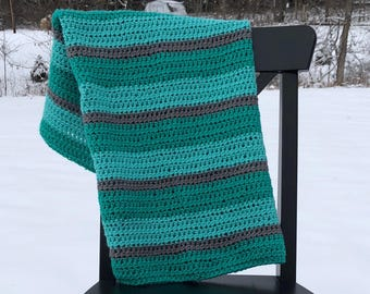 Striped Baby Blanket **FREE SHIPPING**