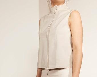 Prada Vest & Pant Cream Set