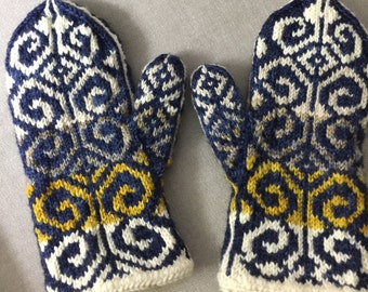 More fiddlehead mitts
