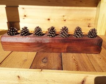 Rustic Cedar Centerpiece