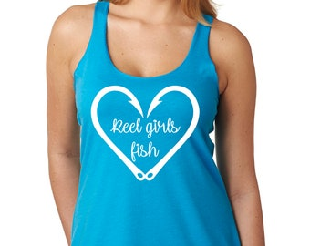 84a75a6d9ad83c Reel girls fish tank top