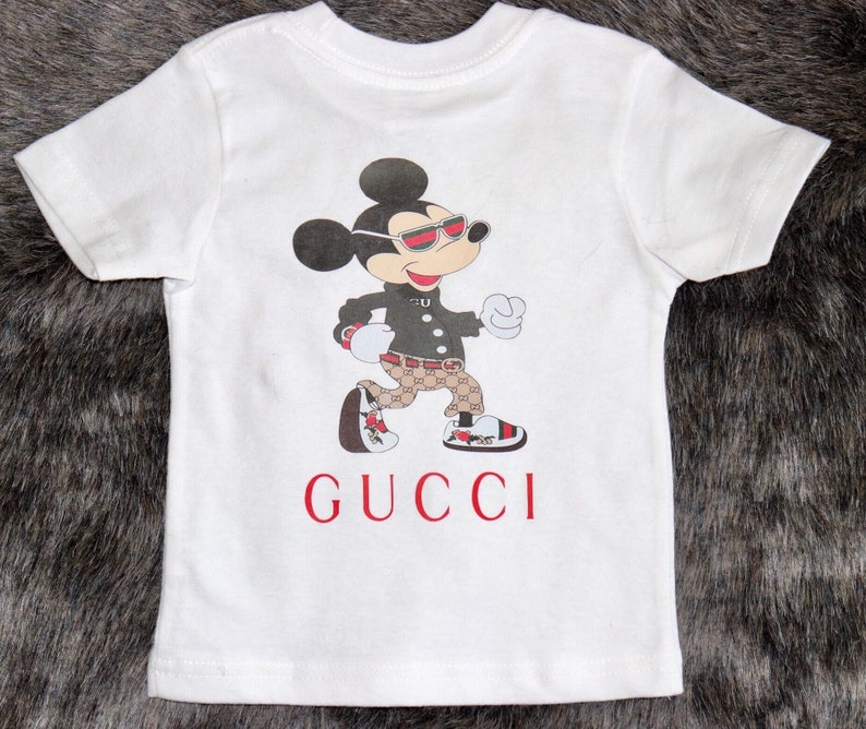 60fdbcd8d39 Gucci inspired T-shirt kids tee kids custom made t-shirt | Etsy