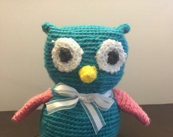 Baby owl stuffie