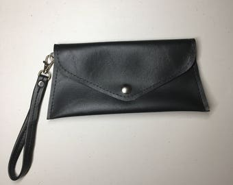 Envelope Clutch with Wristlet