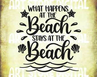 Buy 3 GET 1 Free   Beach Life Svg Summer Svg Beach Quotes | Etsy