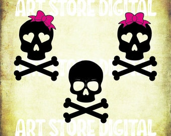 Buy 3 Get 1 Free 6 Skull Bow Tie Svghalloween Svg Files Etsy